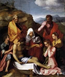 Andrea del Sarto, Pietà, 1523