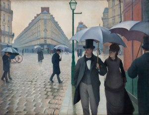 Gustave Caillebotte, Paris Street, Rainy Day, 1877