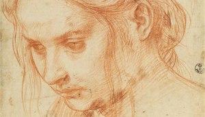 Andrea del Sarto, Study of a Young Woman,  1523